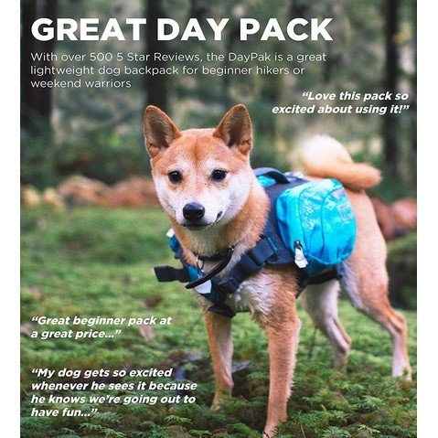 Up to 59% Off Outward Hound Daypak Dog Backpack ~ as low as .79 **Today Only**