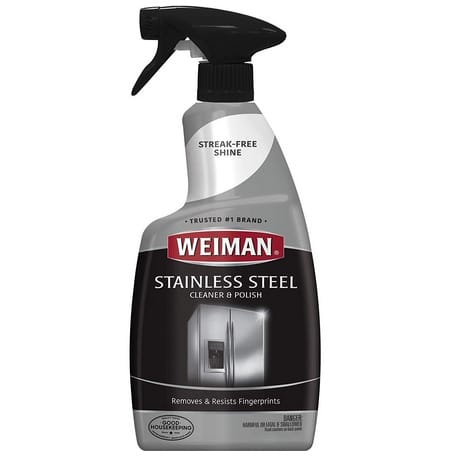 Weiman Stainless Steel Cleaner and Polish Now .99