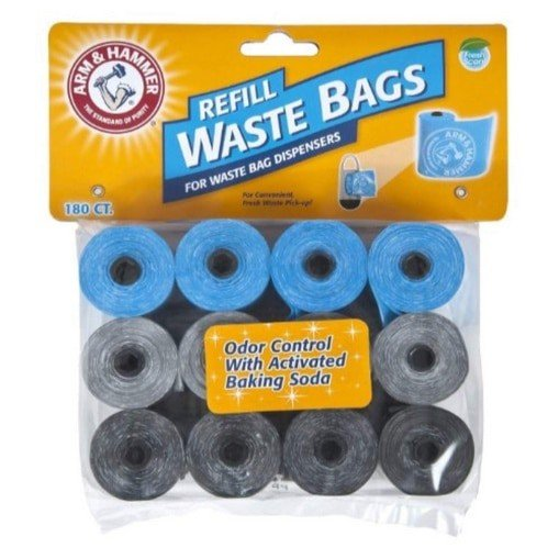 Arm & Hammer Disposable Waste Bag Refills 180 Count Now .25 (Was .99 )