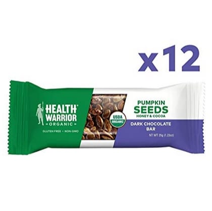Health Warrior Pumpkin Seed Protein Bars 12 Count Now .75 (Was .99)
