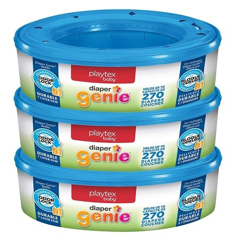 Playtex Diaper Genie Refill Bags 3-Pack Now .28 (Was .19)