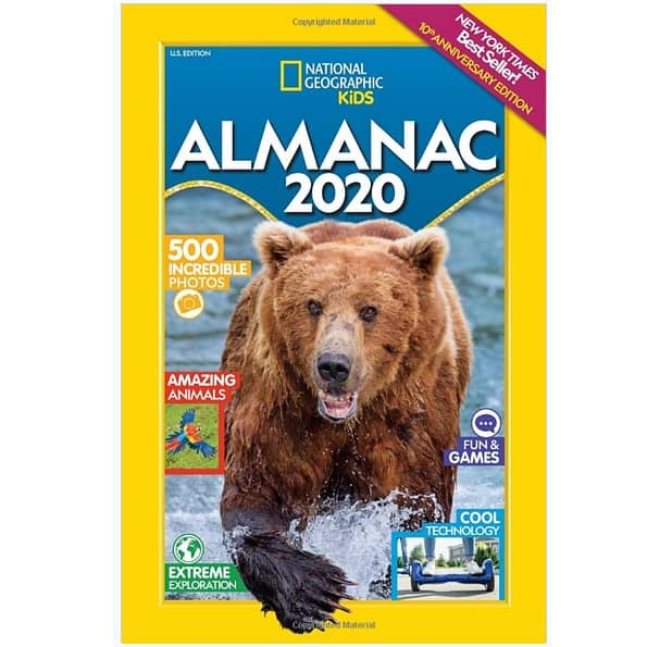 National Geographic Kids Almanac 2020 Now .49 (Was .99)