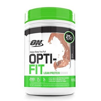 OPTIMUM NUTRITION Opti-Fit Lean Protein Shake Only .76