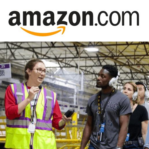 Visit an Amazon Warehouse & Amazon Will Donate  to St. Jude Children's Hospital
