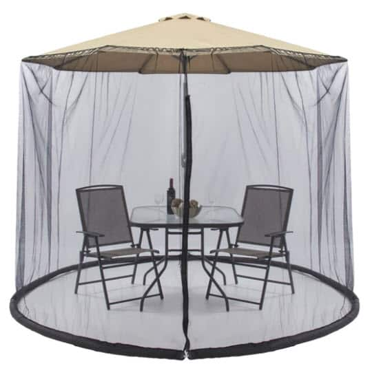 Bug Net Screen Accessory for 9ft Patio Umbrella w/ Zippered Door Only .99 (Was .99)