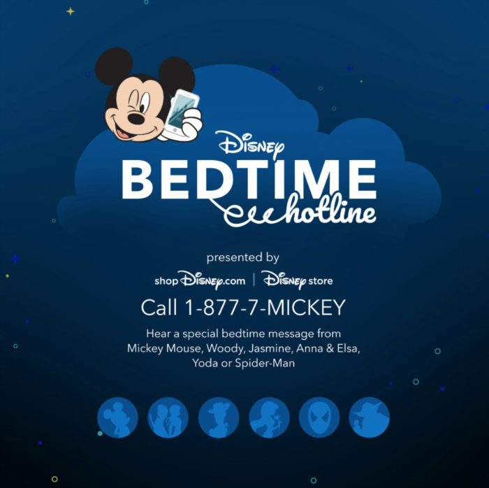 Disney Bedtime Hotline - FREE Call to Disney Characters