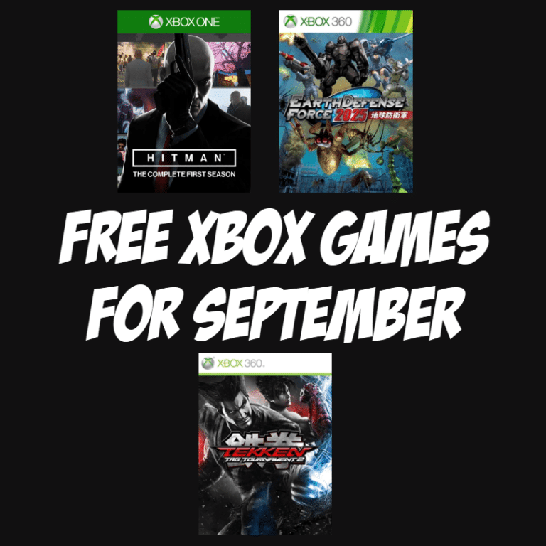 FREE Xbox Games Available for September 2019