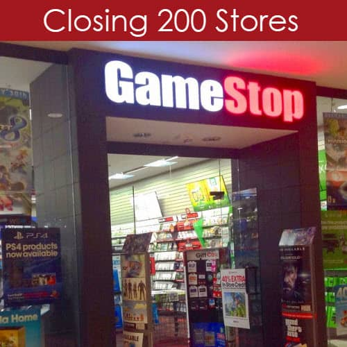 Game Stop Closing 200 Stores Nationwide
