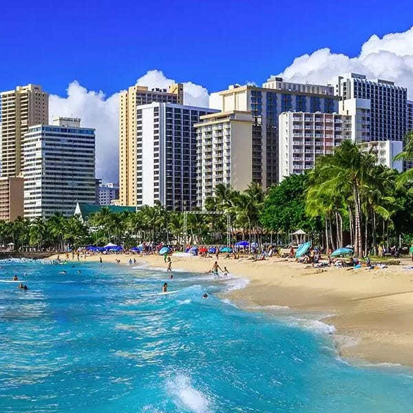 Round trip Flights to Hawaii from 5 **ATL, DTW, and MSP**