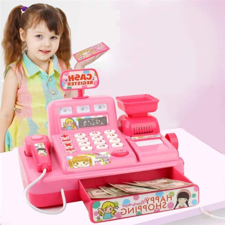 Kids Pretend Play Cash Register with Scanner Now .99 (Was )