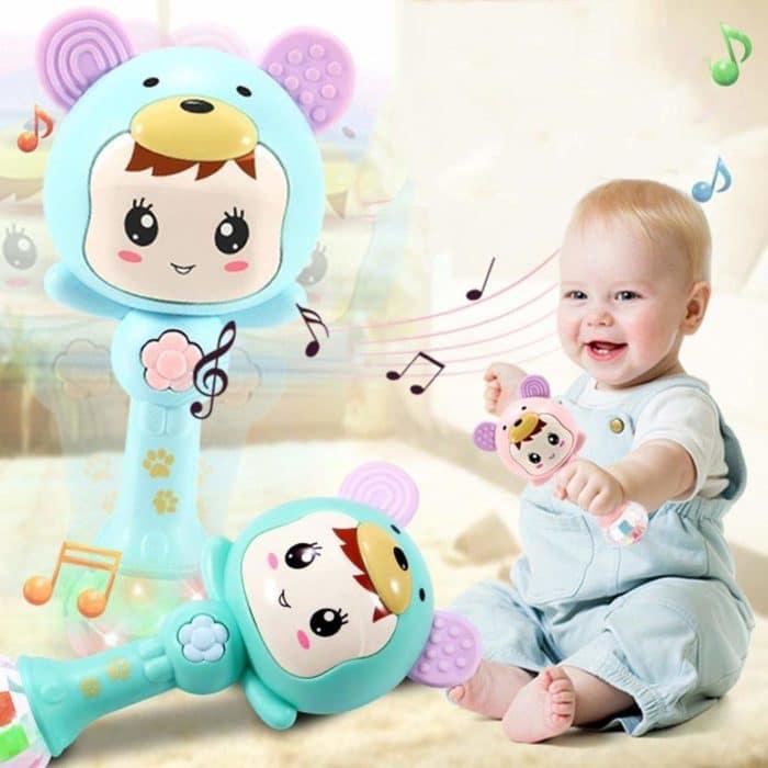 Angoo Baby Shaker Sand Hammer Toy Dynamic Rhythm Stick Now .99 (Was )