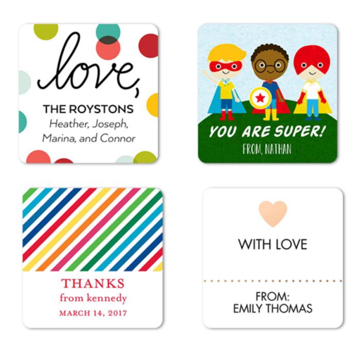 Tiny Prints FREEBIE | 24-Count Custom Gift Tags
