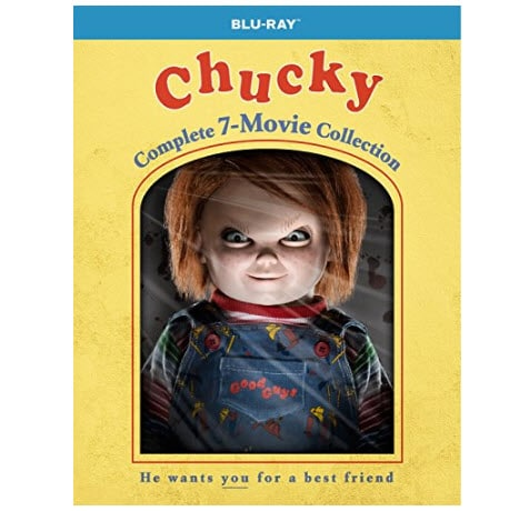 Chucky: Complete 7-Movie Collection on Blu-ray .99 (Was )