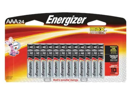 Lowe's Mail in Rebate - Get  Back on Any  Energizer Battery Purchase