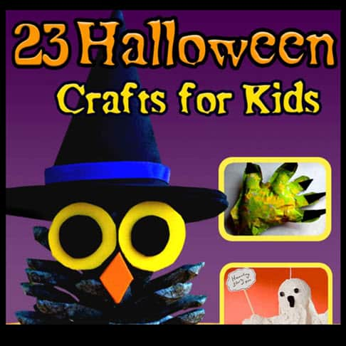 FREE 23 Halloween Crafts for Kids