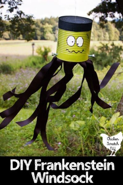 Halloween Decorations Made from Recycled Materials
