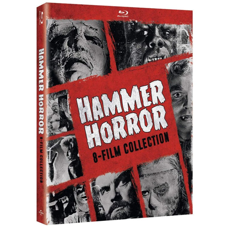 Hammer Horror 8-Film Collection [Blu-ray] Now .99