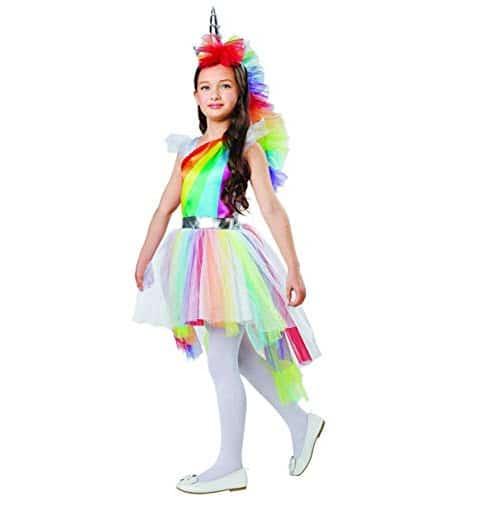 Girl's Rainbow Unicorn Dress Up Costume Now .98 (Was .99)