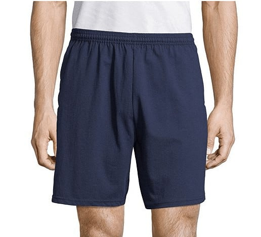 Hanes Men's Jersey Pocket Short Now .20 w/ Free Shipping (Was )