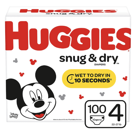 Huge Boxes of Huggies Only .27 Shipped on Amazon