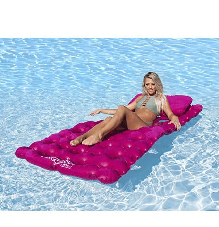 SUN COMFORT COOL SUEDE Pool Mattress Now .20 (Was .99)