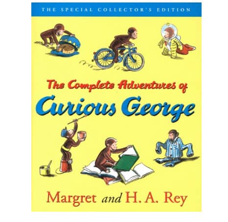 The Complete Adventures of Curious George Kindle Book .99