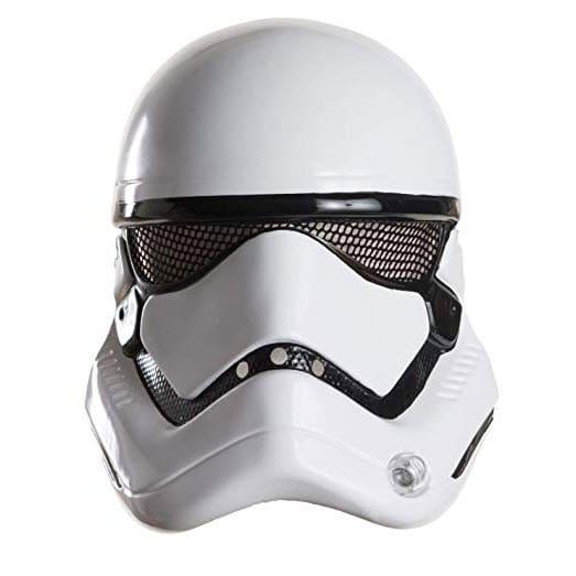 Star Wars: The Force Awakens Child's Stormtrooper Half Helmet Now .45 (Was .99)