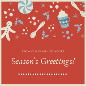 Seasons Greeting Candy