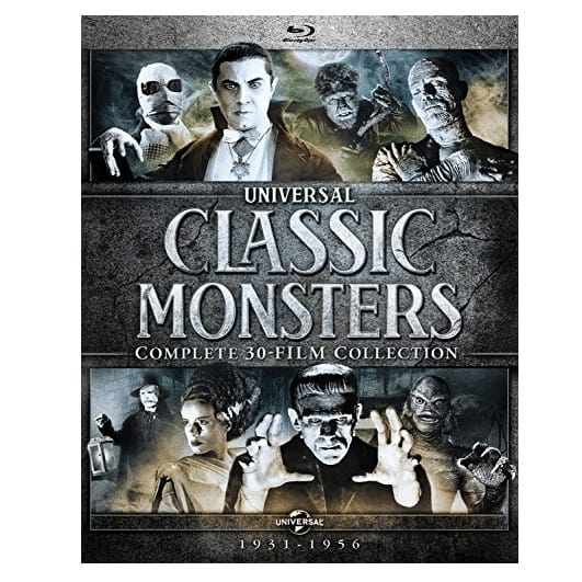 Universal Classic Monsters: Complete 30-Film Collection Blu-ray Now .99 (Was 9.98)