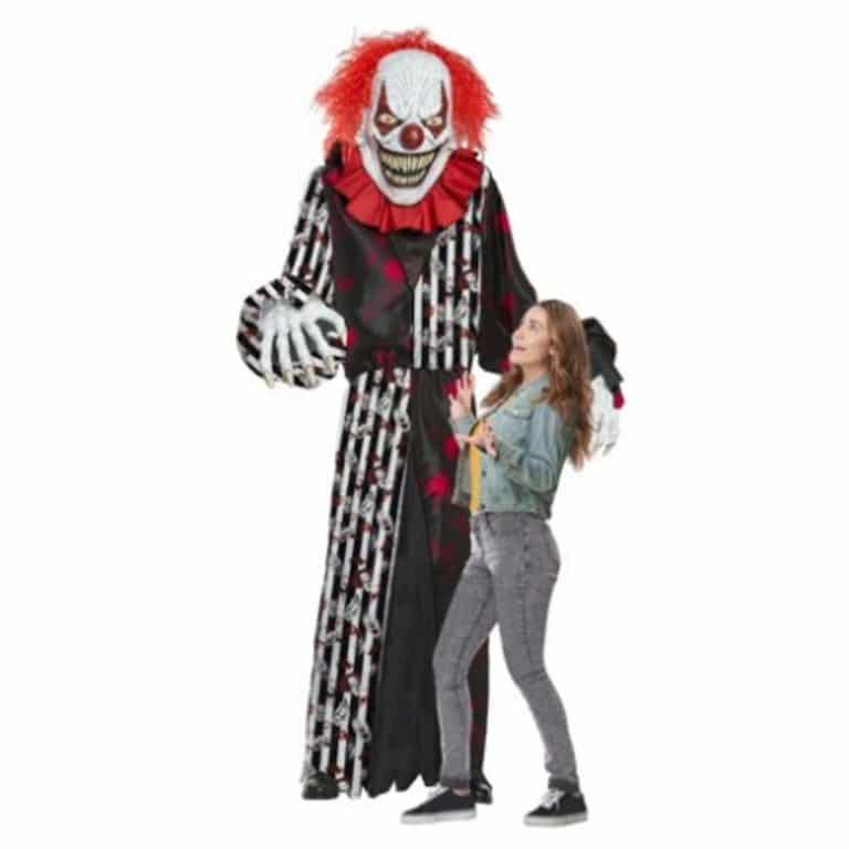 Men's Giant Towering Terror Clown Inflatable Adult Costume Now .99 (Was )