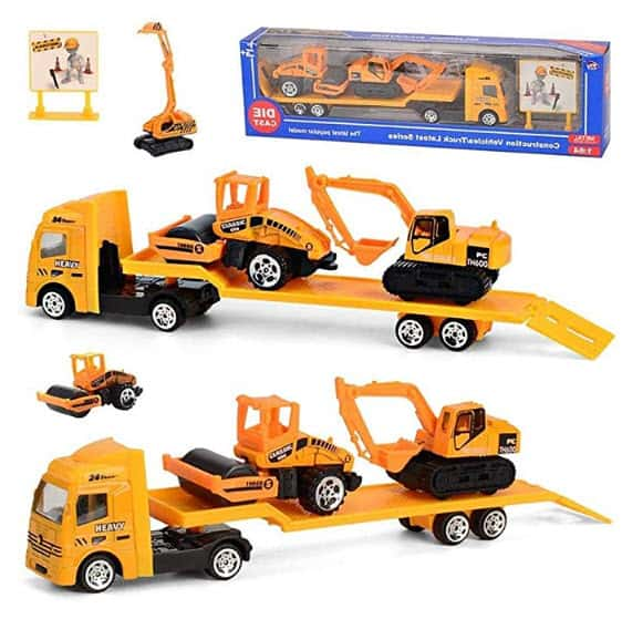 4-Piece Transport and Tractor Playsets Now .99 (Was )