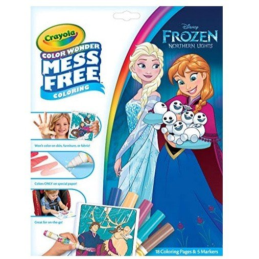 Crayola Color Wonder Mess Free Frozen Coloring Book & Markers Now .97 (Was .99)