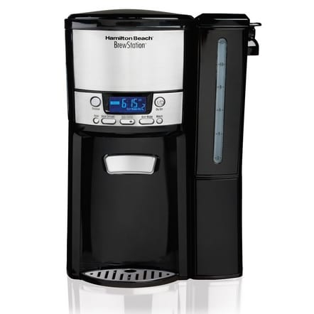 Hamilton Beach BrewStation 12-Cup Programmable Coffee Maker Now .99