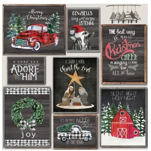 Christmas Cheer Custom Prints Only .97