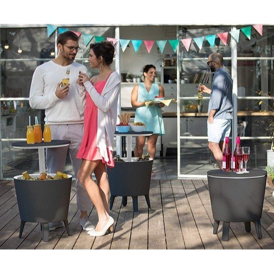 Keter 7.5-Gallon Modern Patio Cooler Table Now .99 (Was .07)