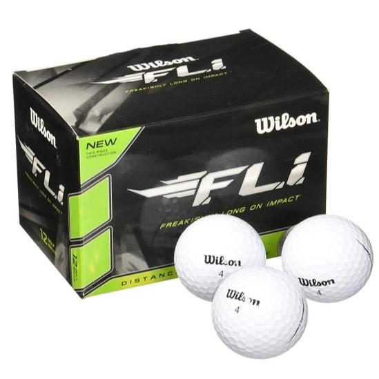 Wilson Staff F.L.I. Golf Balls 12-Pack Now .99 (Was .99)