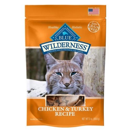 Blue Buffalo Wilderness Chicken & Turkey Cat Treats Now $0.97 (Was $4.99)