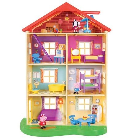 Peppa Pig's Lights & Sounds Family Home Playset Now  (Was .99)