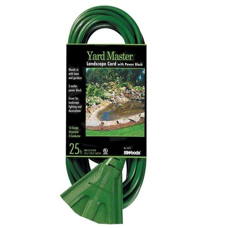 Woods 25-Foot Extension Cord with 3-Outlet Block Now .72 (Was .99)