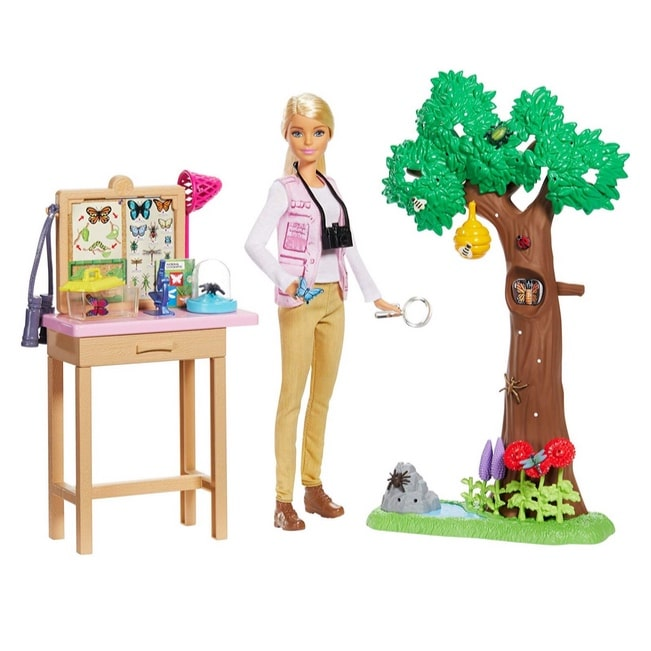 Barbie Entomologist Doll & Playset Now .11 (Was .99)