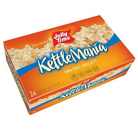 Jolly Time KettleMania Microwave Popcorn 24 Count Now .22