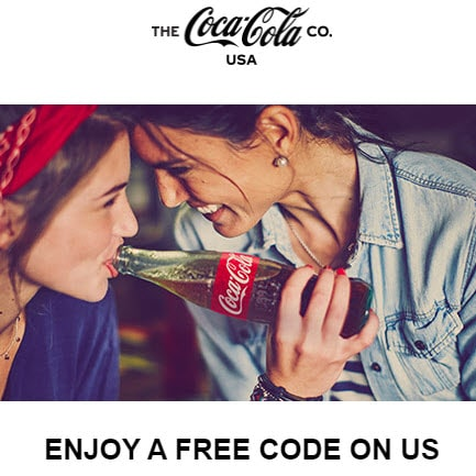 Possible FREE Coca Cola Rewards Code in Email