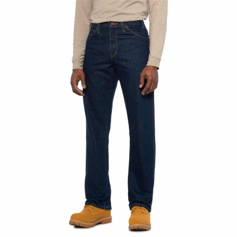Dickies Five-Pocket Denim Work Jeans For Men Now .99 Per Pair