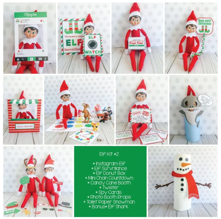 Elf On The Shelf Kits Only .95 at Jane