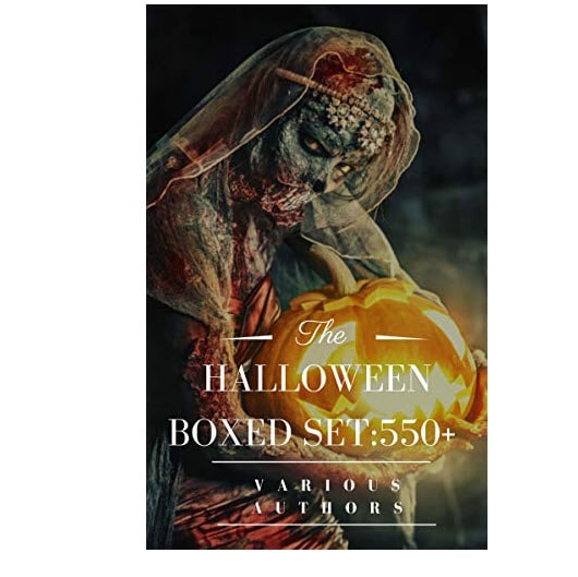 HORROR/GOTHIC Boxed Set: 550+ Halloween Kindle Edition Now <img src=