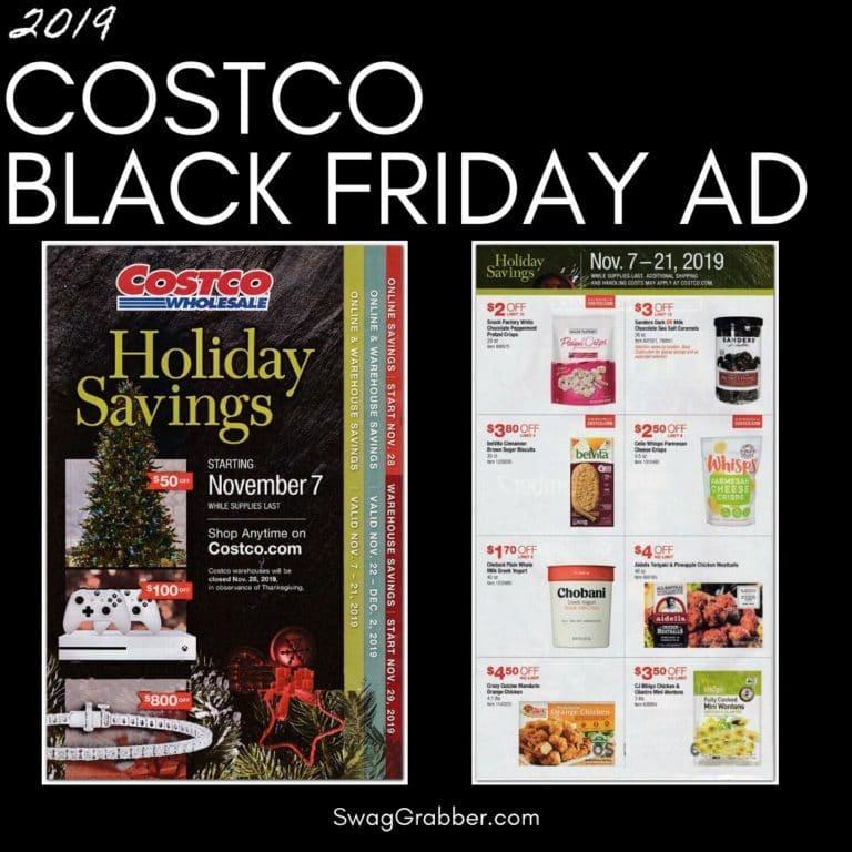 2019 Costco Black Friday Ad Scan