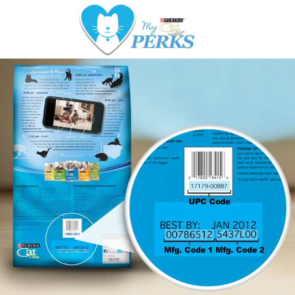Earn FREE Rewards with Purina Cat Chow Perks