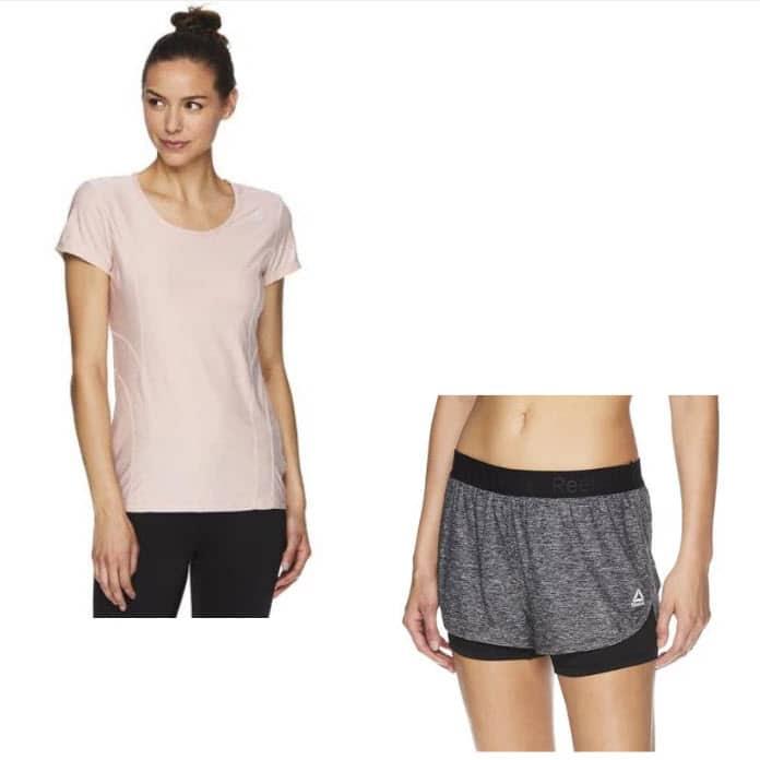 Reebok Women's T-Shirt and Running Shorts .49 Shipped (Was )