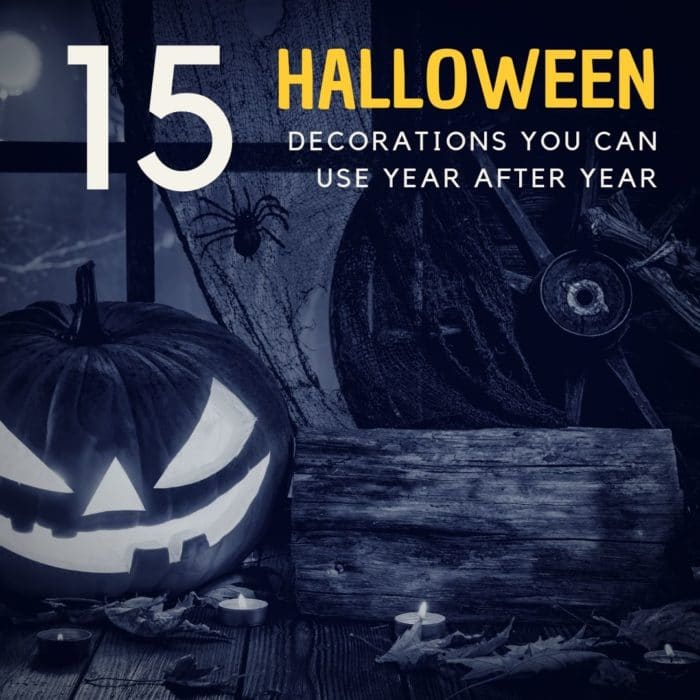 15 Halloween Decorations You Can Use Year After Year
