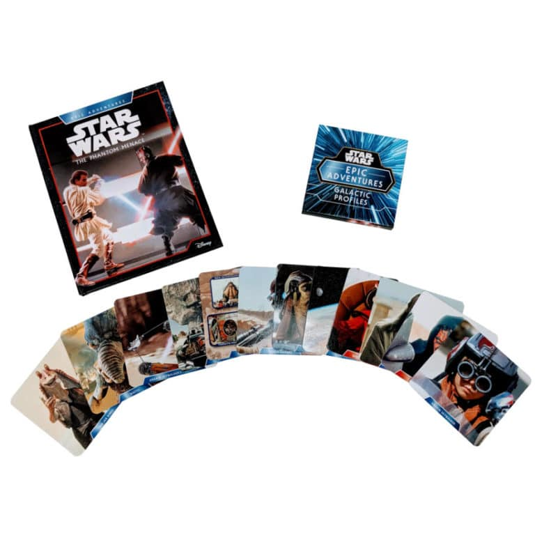 Ultimate Star Wars Gift - Hardcover Storybook w/ Collectible Cards Only .95 w/ Free Shipping